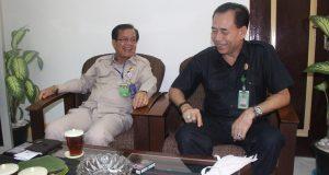 Kunjungan Kepala Kanreg VI BKN Medan ke Pengadilan Negeri Medan